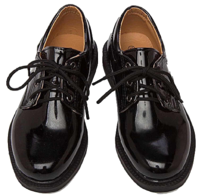 fbfe86cdafb9d  KUADO  [クアド フォーマル キッズ 子供 シューズ 靴 エナメル 光沢 オックスフォード 入学式 卒業