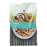 ICA 爱西爱 50% 水果坚果什锦粗粮营养早餐麦片 750g(瑞典进口品牌)(特卖)