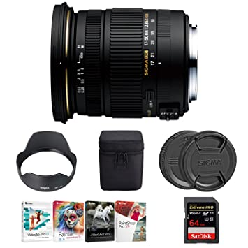 Sigma 17 - 50 mm f/2.8 EX DC OS HSM Zoom lente para Canon ...