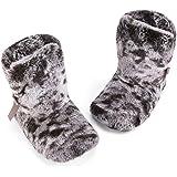 [KomForme] もこもこ ルームシューズ 北欧 あったかルームブーツ スリッパ 室内履き 冬用 防寒 冷え症対策 軽量 来客・大人・子供用 21.5cm~25.5cm 全五種