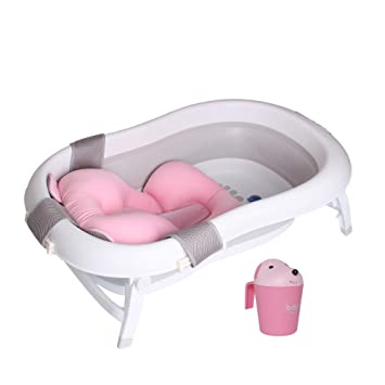 Amazon.com: Baby Brielle - Bañera plegable portátil 3 en 1 ...