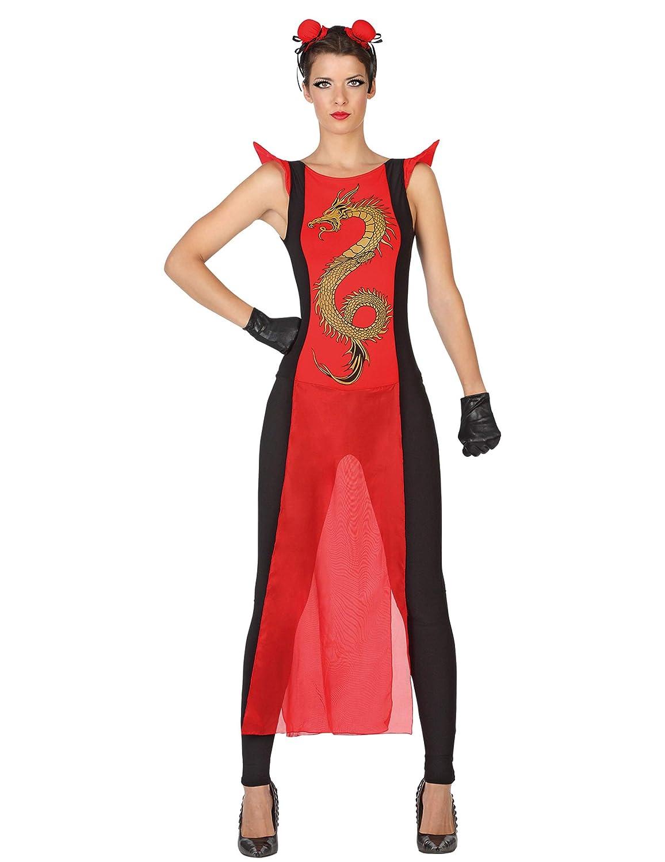 Atosa-28604 Disfraz Samurái, Color rojo, XS-S (28604: Amazon.es ...