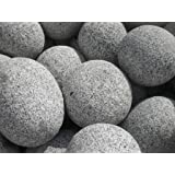 beach pebbles schwarz kies 30 60 mm 20 kg sack gabione. Black Bedroom Furniture Sets. Home Design Ideas