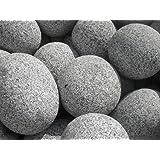 beach pebbles schwarz kies 30 60 mm 20 kg sack gabione gabionenf llung ziersplitt splitt. Black Bedroom Furniture Sets. Home Design Ideas