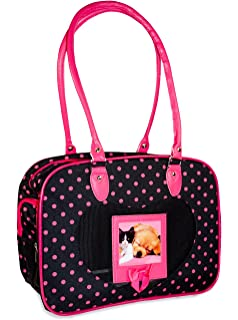 J Garden Polka Dot Pet Carrier