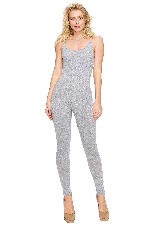11da4d8766f6 Amazon.com  EttelLut Bodycon Jumpsuits Rompers Bodysuits-Long Yoga Span  Playsuits for Women  Clothing