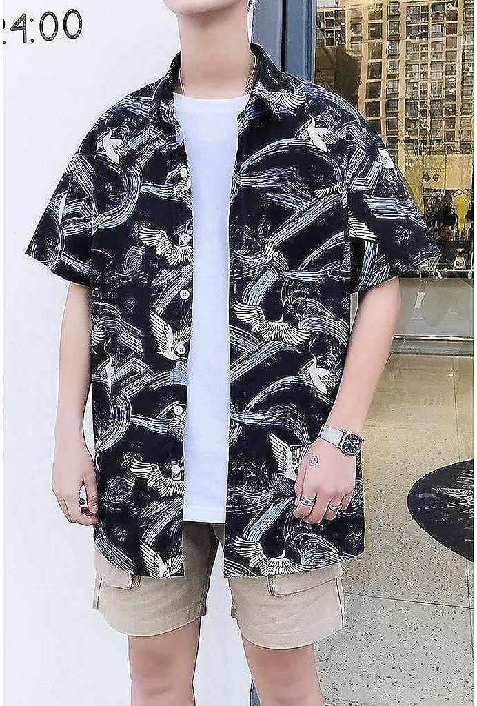 MOTOCO Camisa Hawaiana De Hombre Camisa Impresa 3D ...