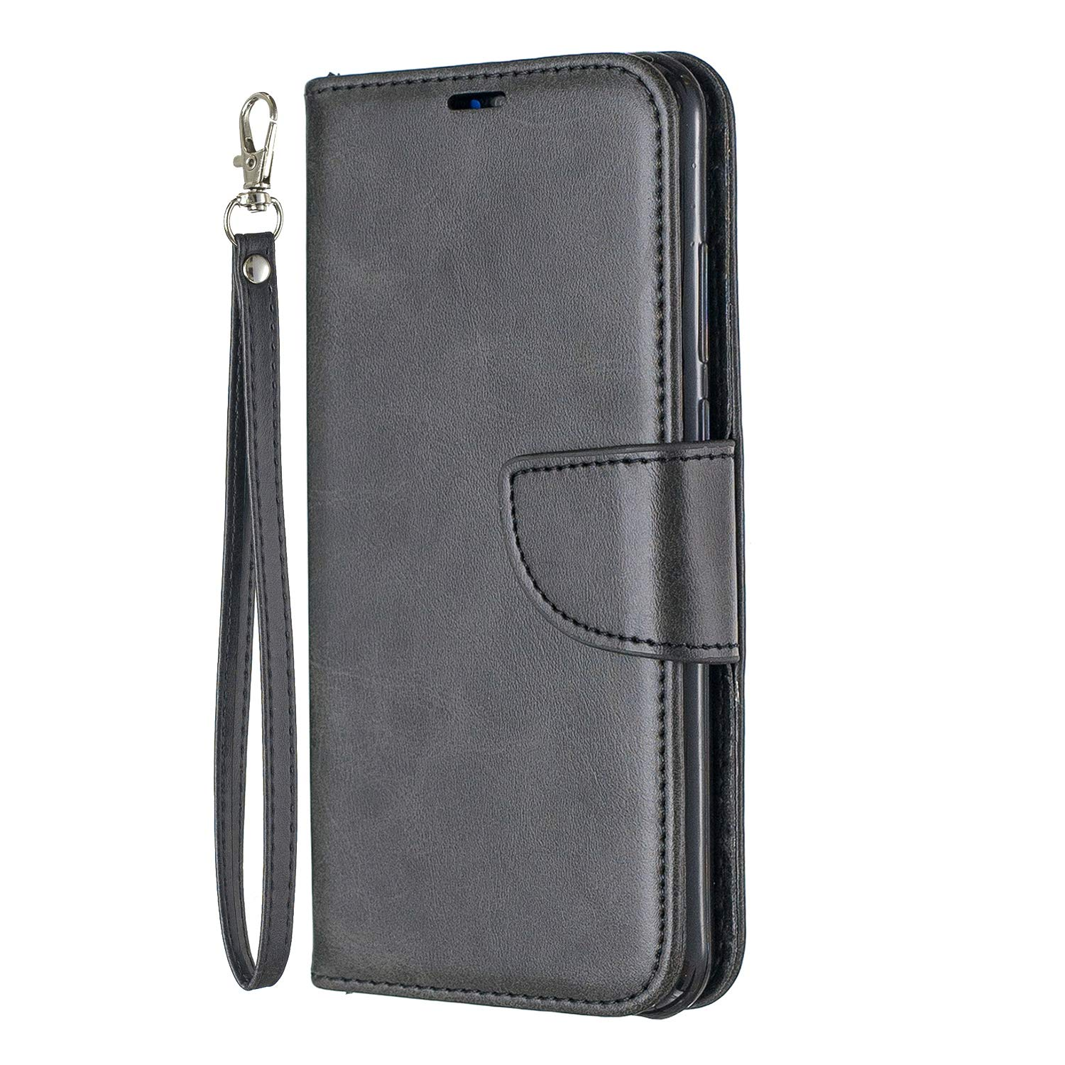 innovative design 2df86 b3fc7 Amazon.com: Lomogo Huawei Y6 2019/Honor 8A/Y6 Pro 2019 Case Leather ...