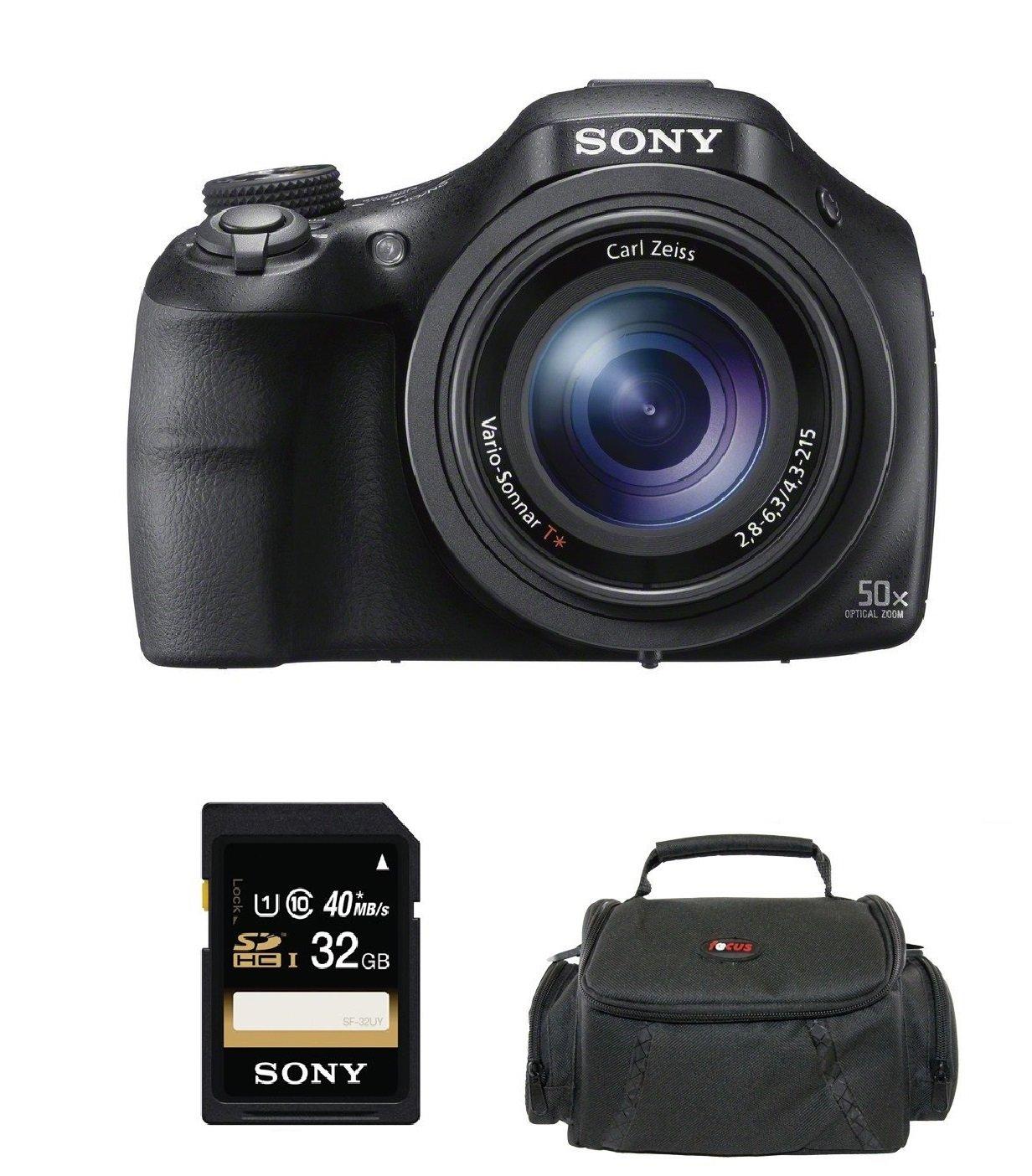 Sony hx400 / B 20 MPデジタルカメラ(with SDカードとケース)   B00JJ523K2