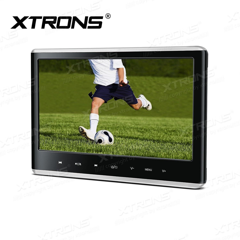 XTRONSタッチパネルDVDプレーヤーゲームアクティブ11.6インチフルHD表示1080pビデオ車ヘッドレストマウントAV IN/OUT HDMI ブラック HD116HD_Silver B07DJ9YDQD HD116HD_Silver HD116HD_Silver