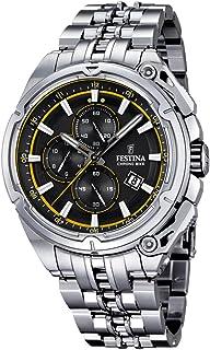 Festina F16881-7 Mens 2015 Chrono Bike Tour De France Silver Watch
