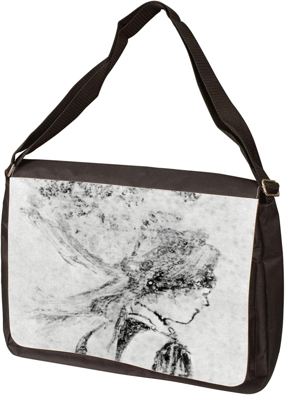 The Nurse by Edgar Degas Laptop Bag Messenger Bag Shoulder Bag