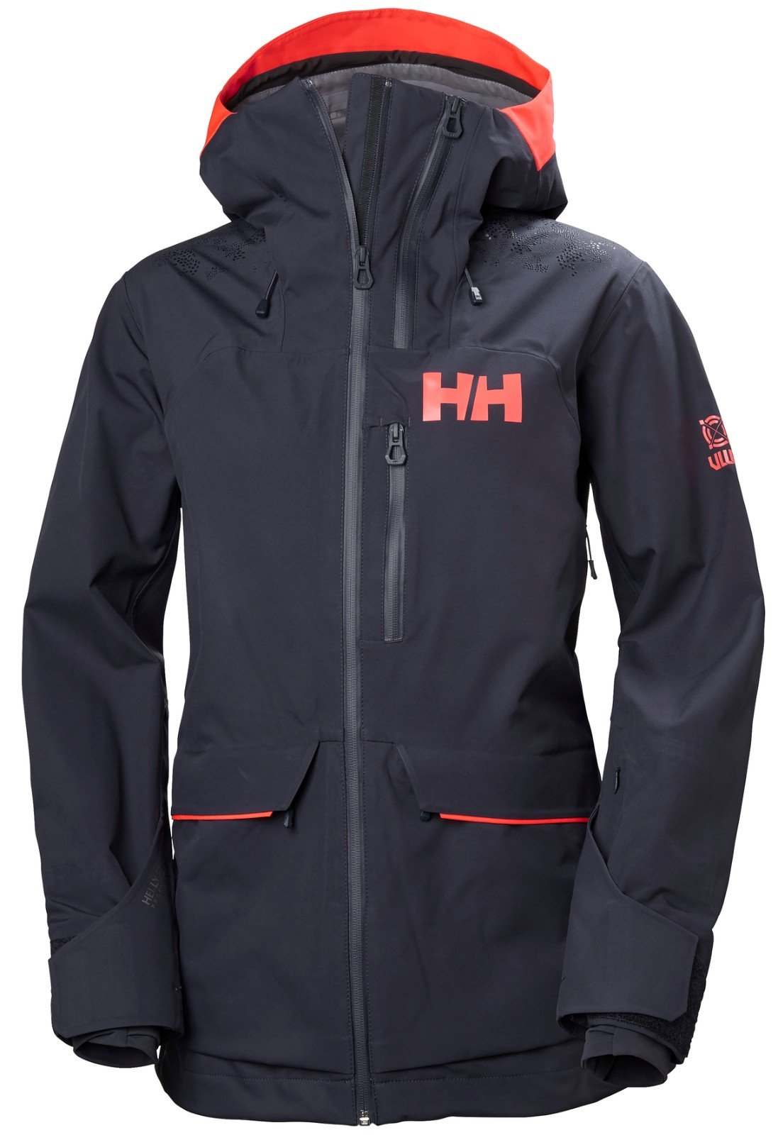 Helly Hansen Women's Aurora 2.0 Waterproof Shell Ski Jacket, Graphite Blue, Large by Helly Hansen (Image #3)