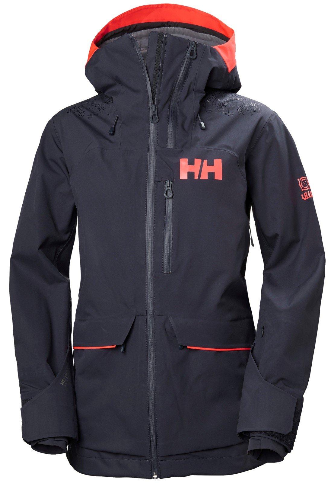 Helly Hansen Women's Aurora 2.0 Waterproof Shell Ski Jacket, Graphite Blue, Large