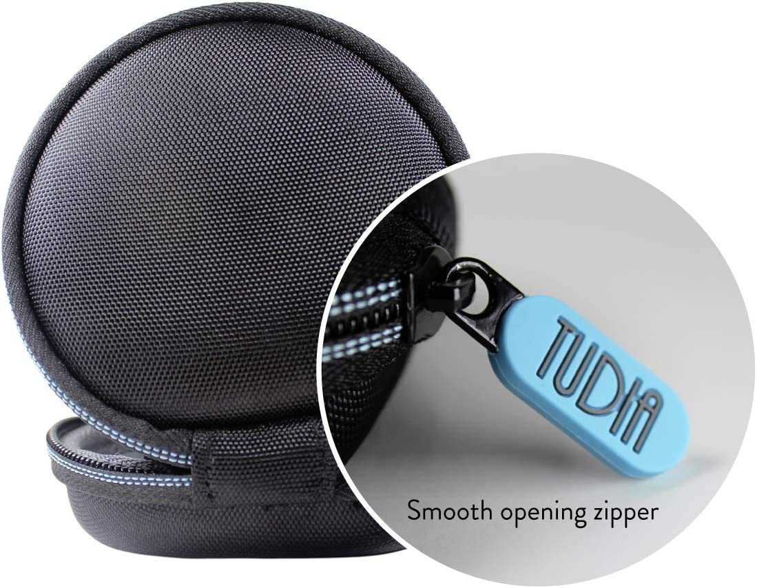 TUDIA EVA Empty Travel Portable Storage Hard Carrying Case for Wrist Watch//Smart Watch//Fitbit Watches//Replacement Strap CASE ONLY