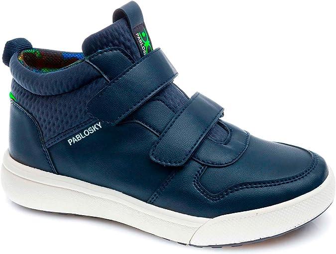 Zapatillas Lona Ni/ña Pablosky Azul 959120