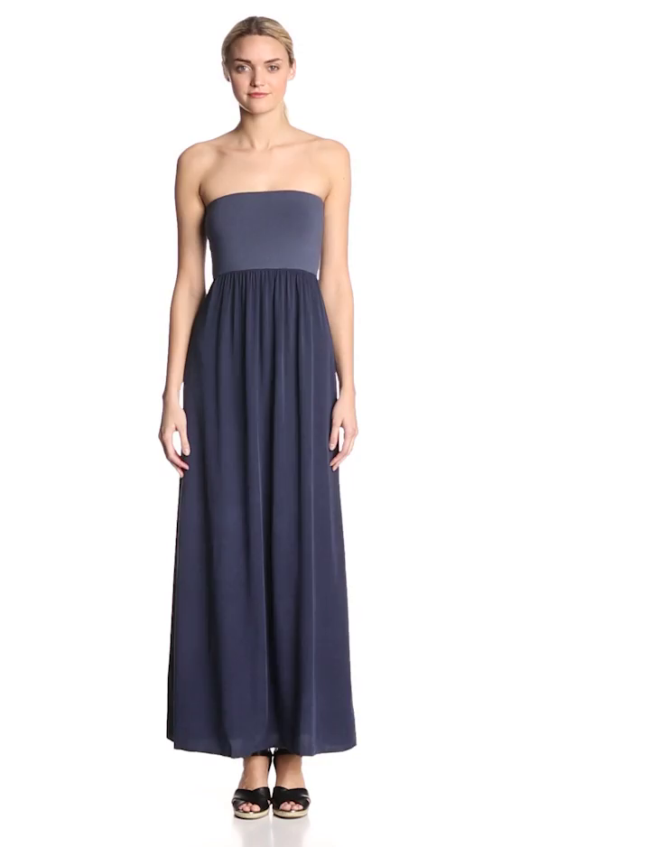 Splendid Women's Always Strapless Maxi Dress