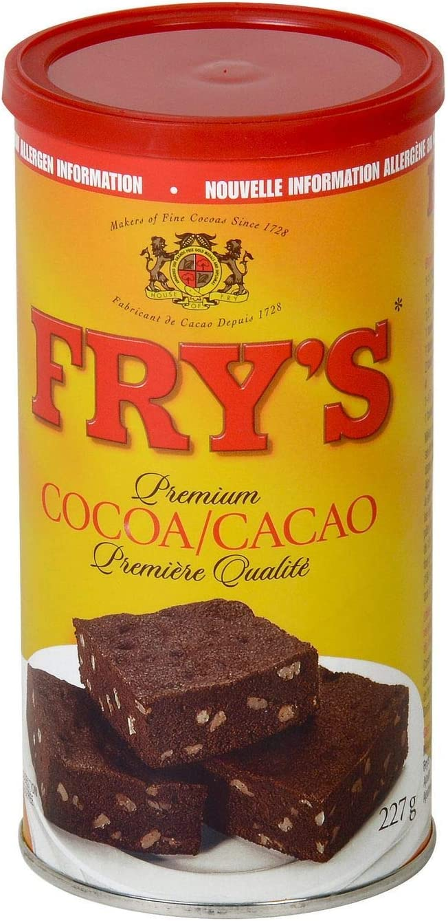Fry's Premium Baking Cocoa Powder - 227 g: Amazon.ca: Grocery