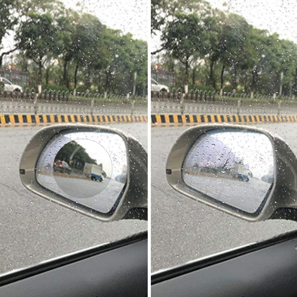 HD Anti-Fog Nano Coating Rainproof Film MAXGOODS 2 Paia Car Rearview Mirror Protective Film Anti-glare,Anti-scratch Screen Protector for Rear view Mirror
