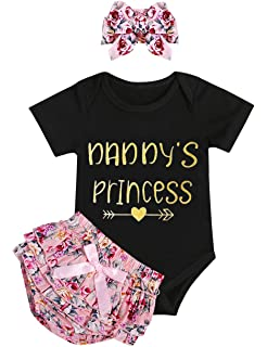 69b97929d82d5 Amazon.com: 3pcs Baby Girl Pants Outfit Floral Long Pants +Letter ...
