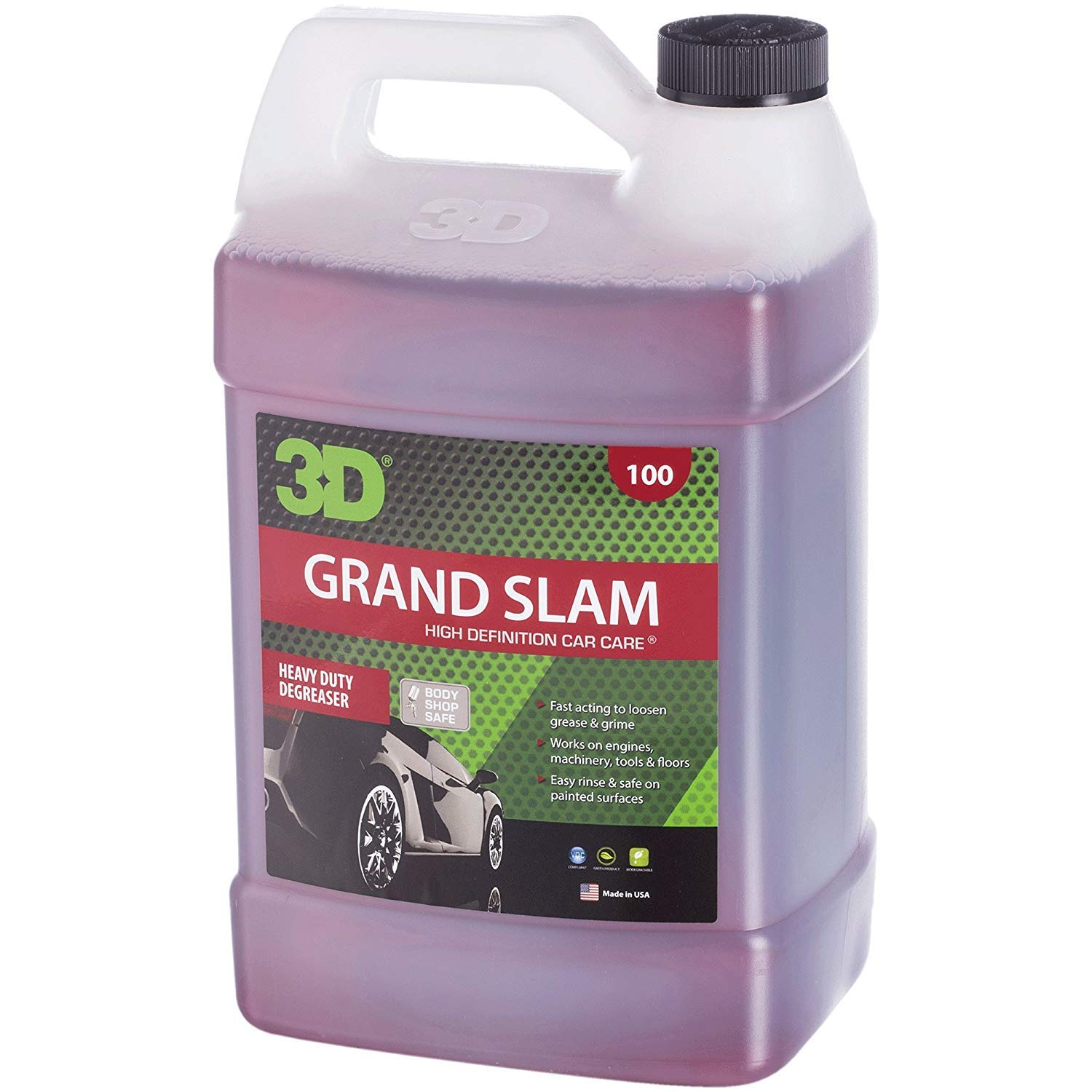 3D Auto Detailing Products 3D Grand Slam Engine Degreaser