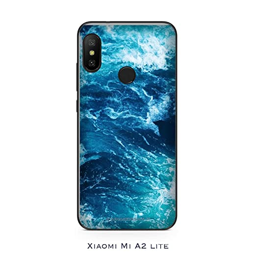 Funda Mi A2 lite Carcasa Xiaomi Mi A2 lite Olas onde Oceano ...