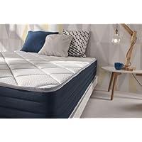 NATURALEX Matelas Supervisco - Mousse adaptative Blue Latex + mémoire de Forme THERMOSOFT Haut DE Gamme - 7 Zones de Confort, Hauteur 25 cm