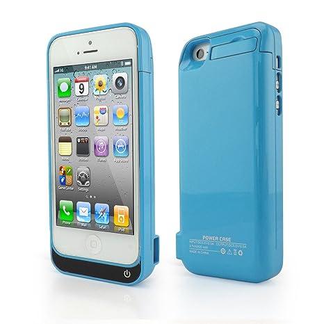 8b818a7b1fa iPhone 5C 2200 mAh carcasa cargador Batería Externa de copia de seguridad Batería  externa, compatible