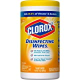 Clorox Disinfecting Lemon Fresh, Bleach Free Cleaning Wet Wipes - 75 Wipes