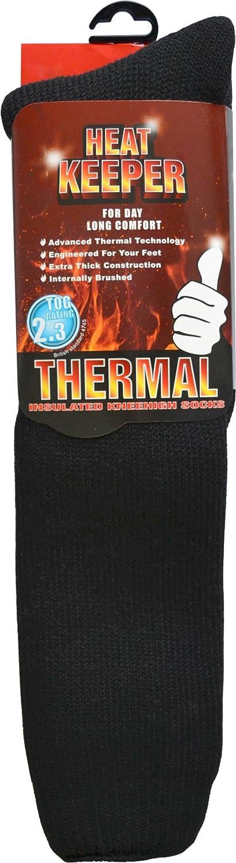 1 Paar HEAT KEEPER Thermo Kniestrümpfe mit hohem TOG-Isolationswert 2,3
