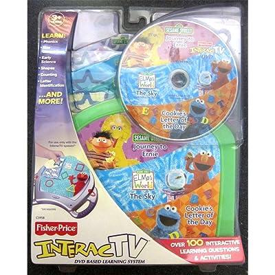 InteracTV Sesame Street Volume 1: Toys & Games