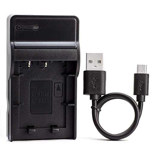 NP BX1 Ultra Slim USB Charger for Sony Cyber shot DSC RX100