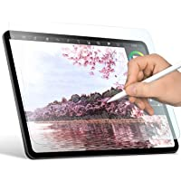 ELECOM 【Super Easy Installation】 Paper-Feel Screen Protector Compatible with iPad Pro 11inch 2018,2020 / Scratch…