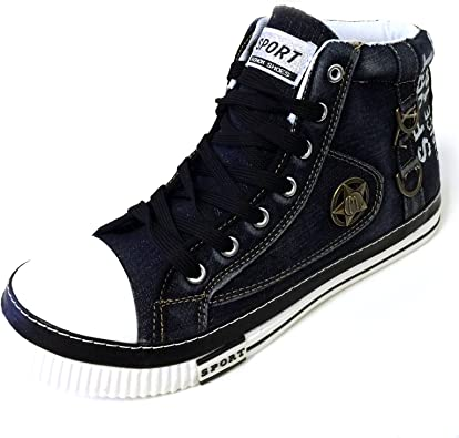 high top shoes with jeans