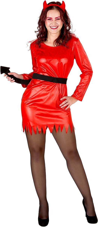 TecTake dressforfun Disfraz de diablesa para Mujer | Vestido en ...