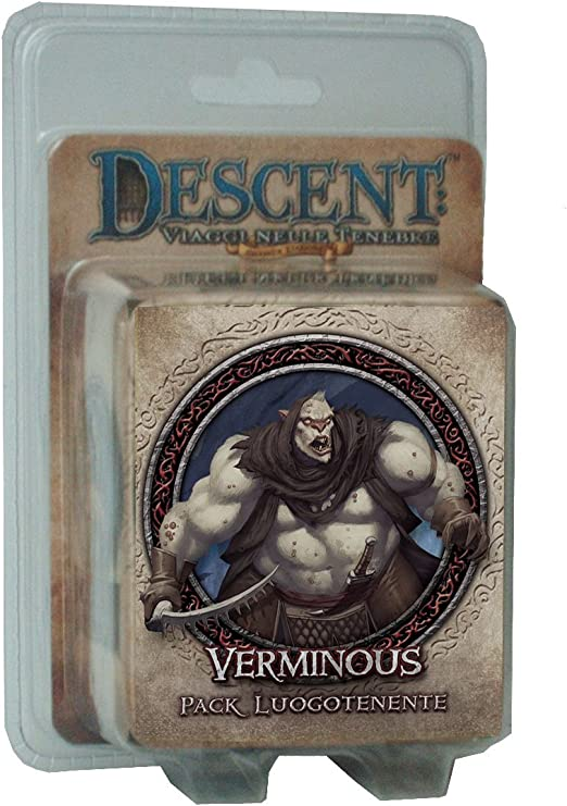 Giochi Uniti GU243 – Descent Seconda Edición Pack Luogotenente Verminous Edición Italiana: Amazon.es: Juguetes y juegos