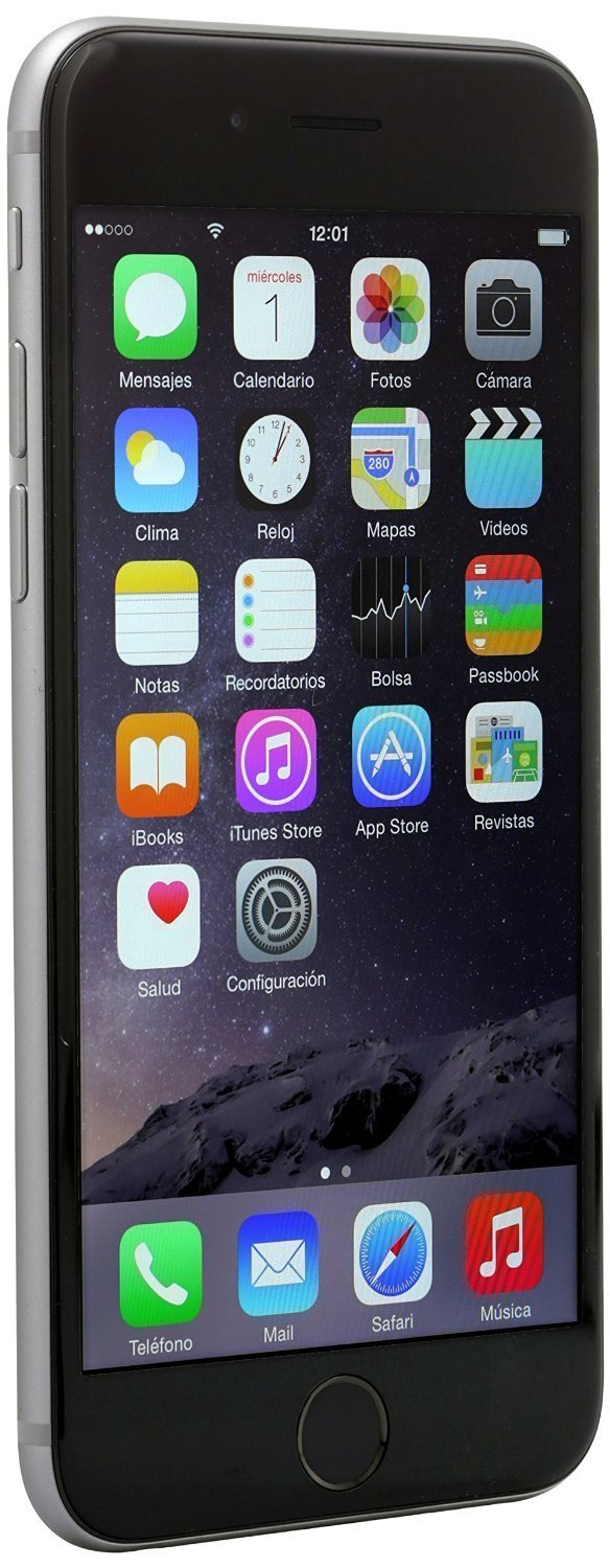 Apple iPhone 6, T-Mobile, 16GB - Space Gray (Certified Refurbished) by Apple (Image #2)