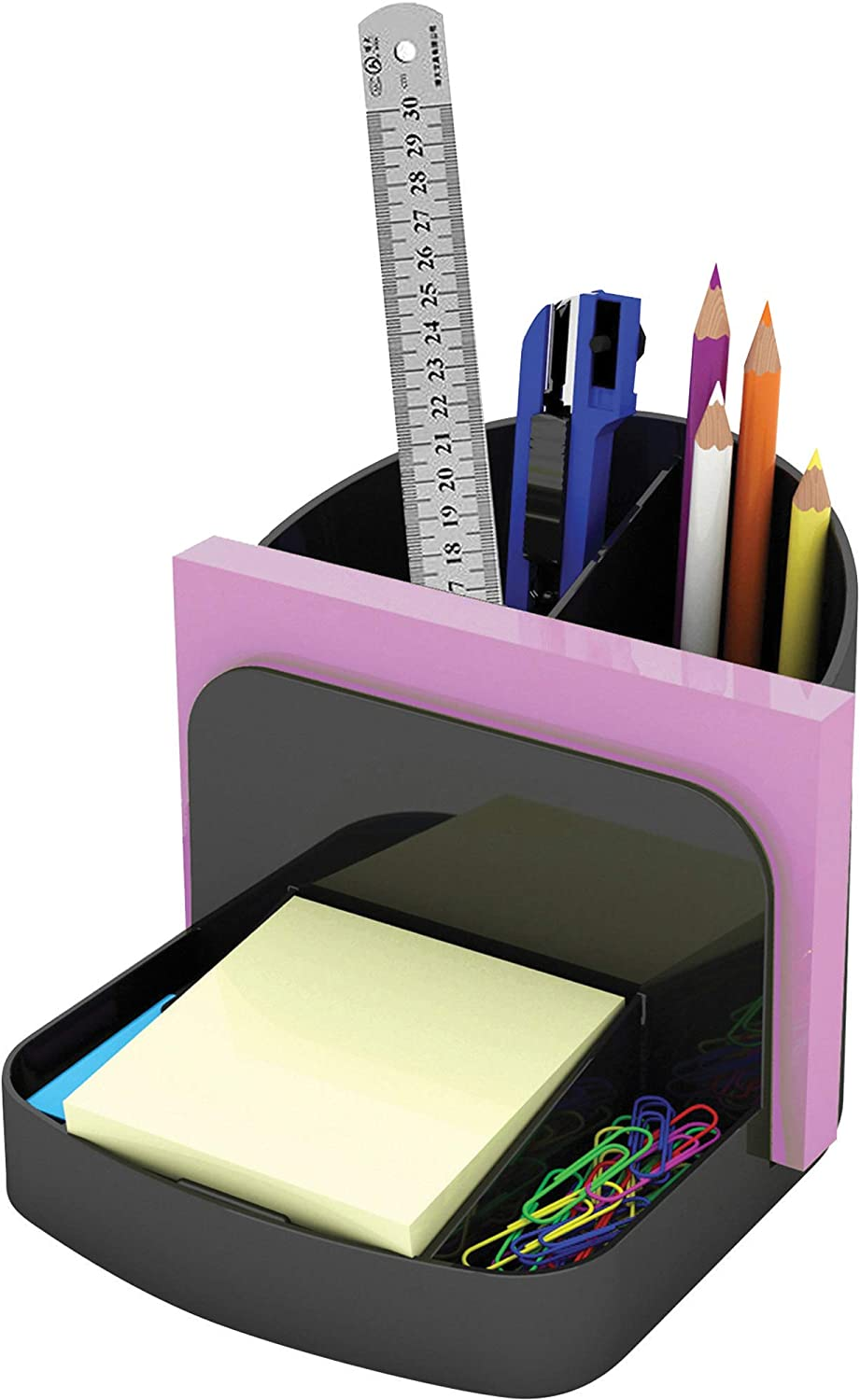 Deflecto Sustainable Office Desk Caddy, 5-3/8 x 5 x 6-3/4 Inches, 30% Recycled Content (38904) (38904)