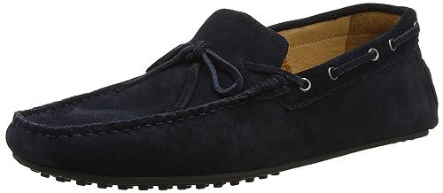 Hackett HMS20654, Mocasines Hombre, Azul (Navy), 42 EU: Amazon.es: Zapatos y complementos