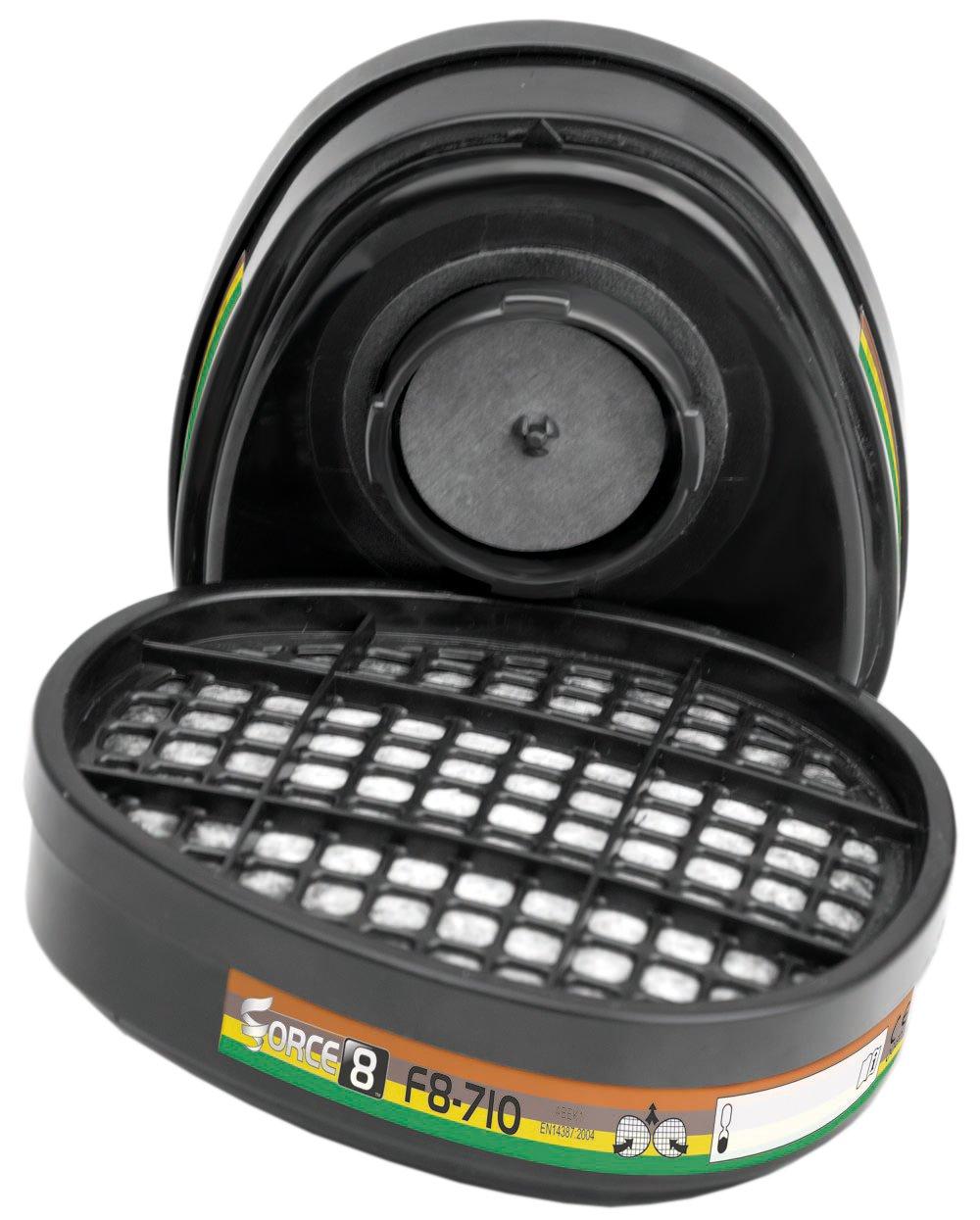 JSP BMN330-011-700 ABEK1 Force 8 Combi Cartridges Pack of 2