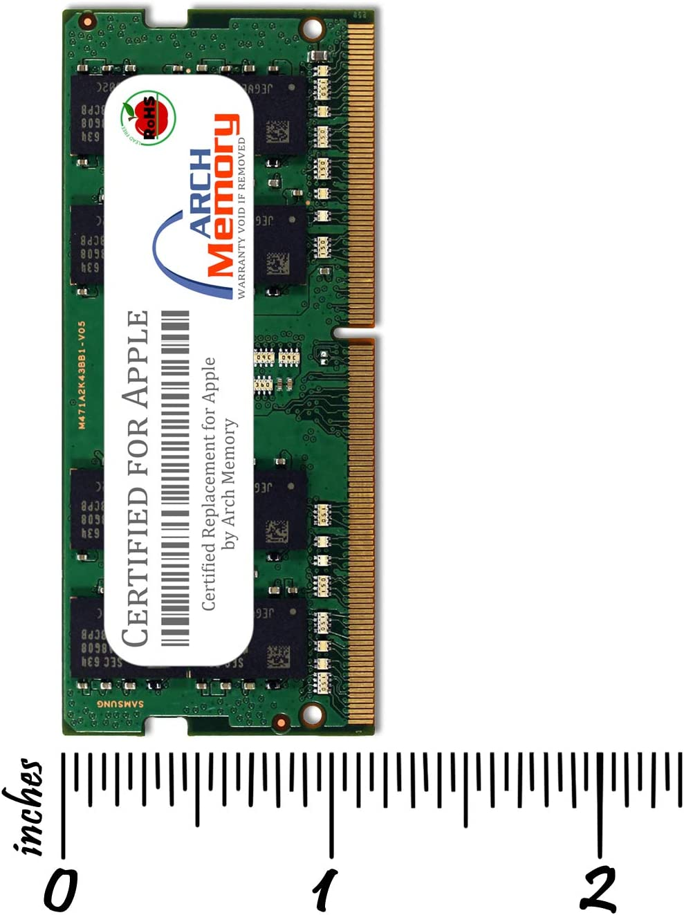 Arch Memory Replacement for Apple MP7N2G//A 32 GB Kit 2 x 16 GB 260-Pin DDR4 So-dimm RAM