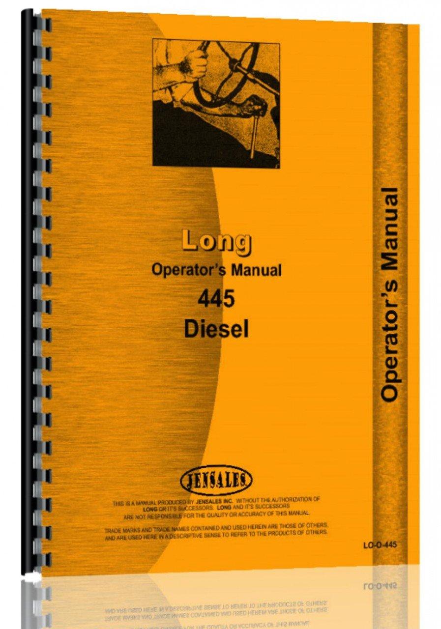 Long 445 Tractor Operators Manual: Long: 0739718108356: Amazon.com: Books