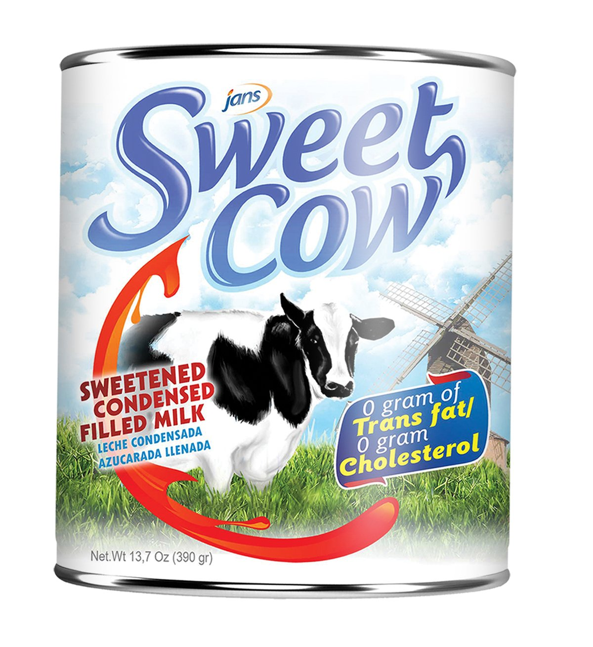 Sweet Cow Sweetened Condensed Creamer (13.2 oz) Pack of 18