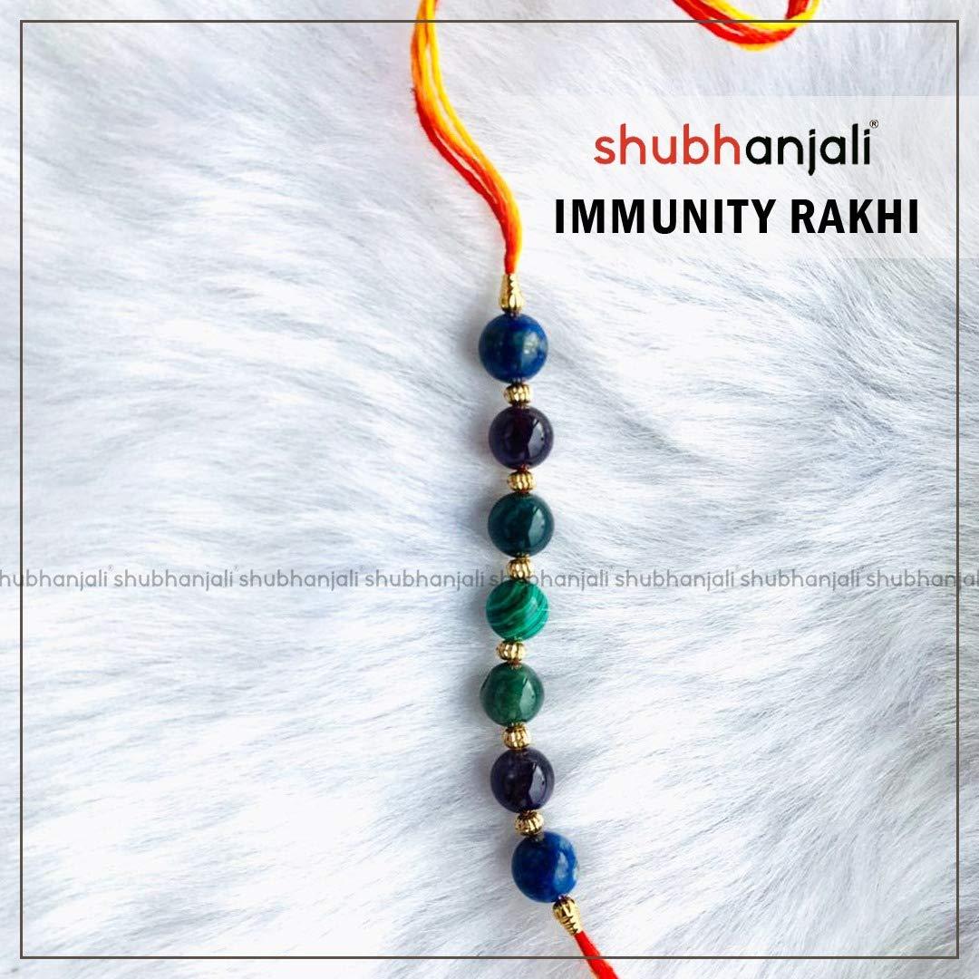 Shubhanjali Customized Immunity Rakhi