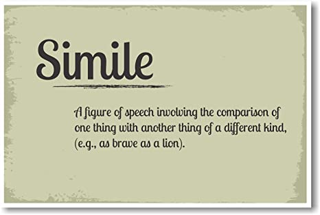 simile for kind