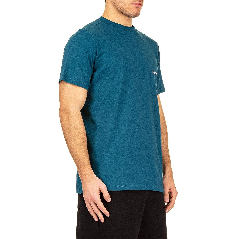 Numero00 Womens 1524OTT Green Cotton T-Shirt