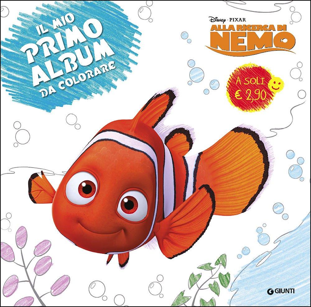 Amazon It Alla Ricerca Di Nemo Primo Album Da Colorare Libri