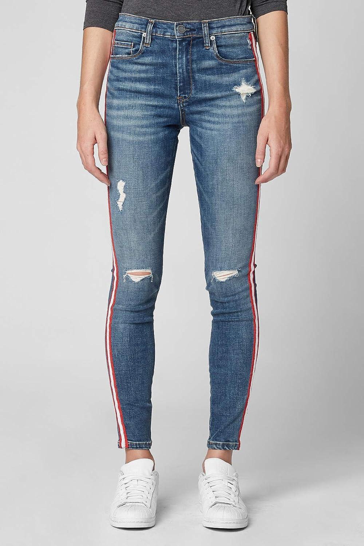 BLANKNYC Blank NYC Jersey Girls Stripe Jean Pant
