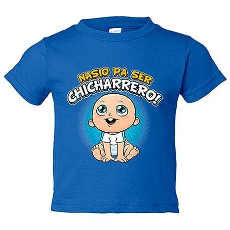 Camiseta niño nacido para ser Chicharrero Tenerife fútbol - Azul Royal, 3-4 años