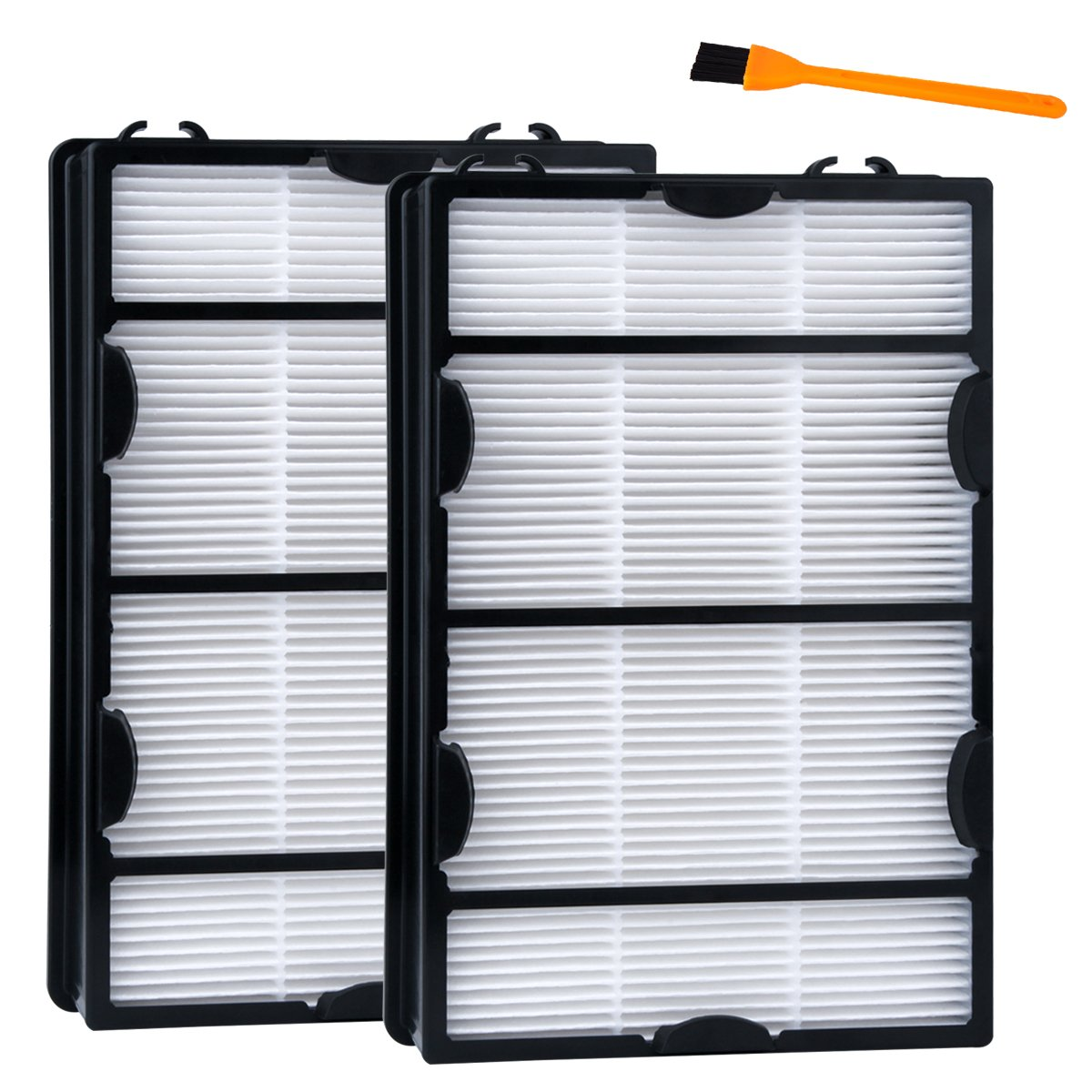 Hongfa Replacement Holmes HAPF600D (B) Air Filters, 2packs for Holmes HAPF600, HAPF600D-U2 HEPA Air Allergy Filter